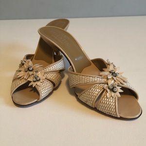 Valentino Garavani Shoes - Valentino Garavani Designer Slide Heels. 3.5 Inch
